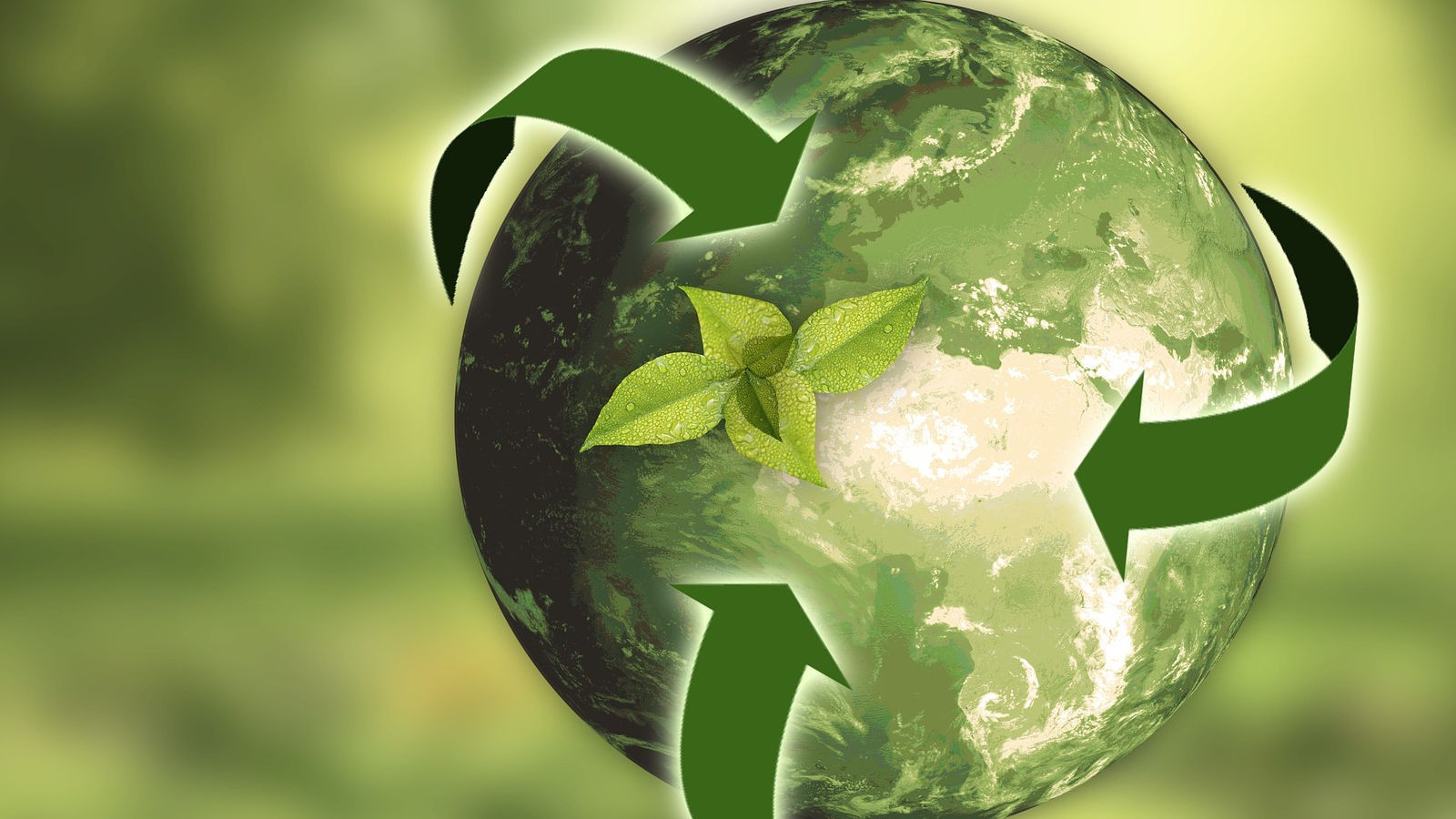 Green Earth - Reuse and Recycle!