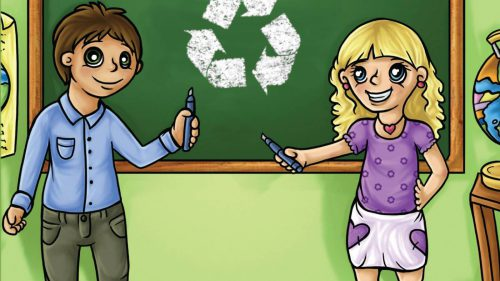 What's it Like, Living Green? Kids Teaching Kids by the Way They Live