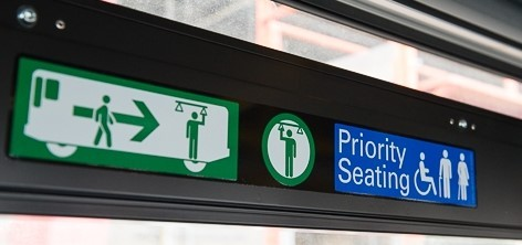 Priority Seating for Seniors and Handicapped