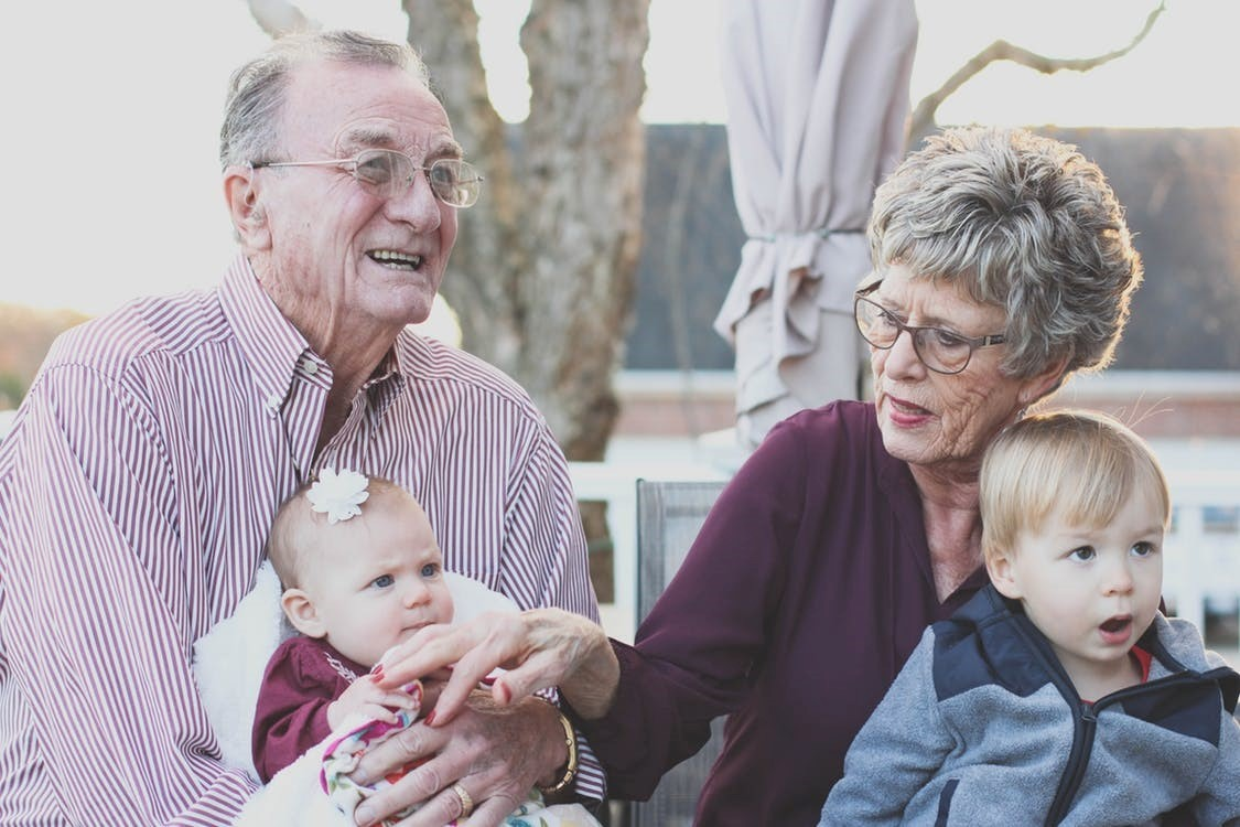Spending Time with Grandparents, Being Older