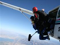 Author Jill Vanderwood Skydiving