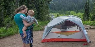 Camping is fun! Camping with Kids